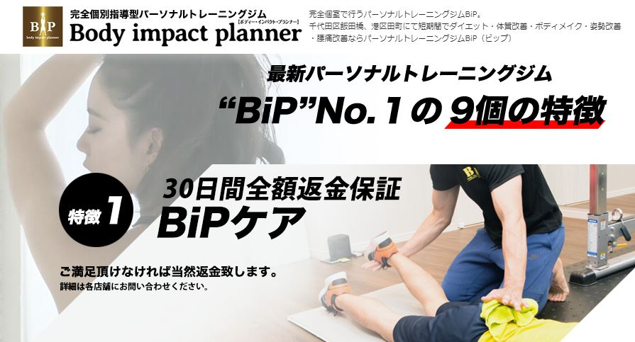 Body Impact planner