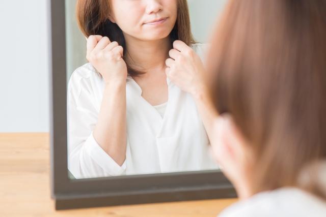 美白サプリの副作用-白髪が増える?