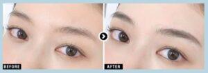 湘南美容クリニックのアートメイクの3D眉の症例写真