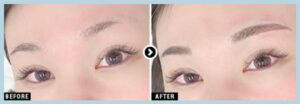 湘南美容クリニックのアートメイクの4D眉の症例写真