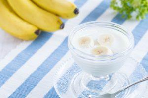 青汁Withヨーグルト+バナナ