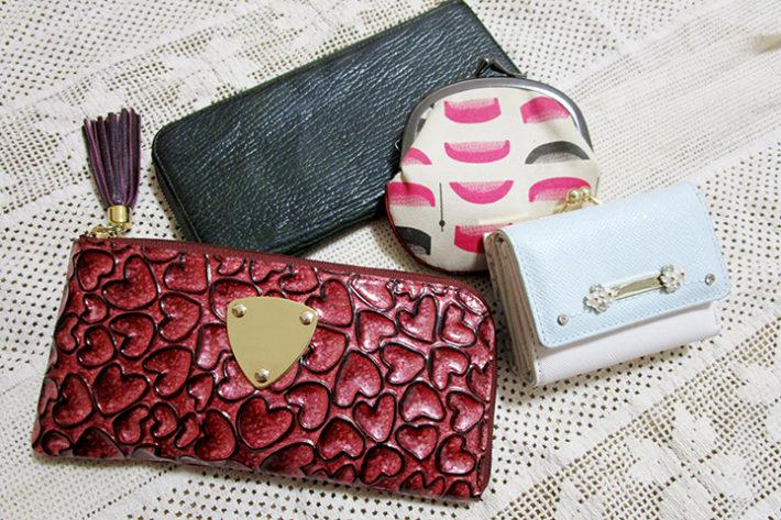 ミニ財布のデザインは3タイプ
