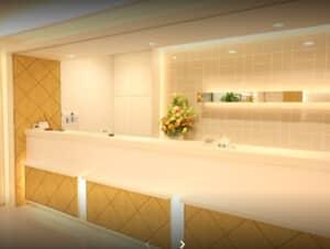 品川美容外科 横浜院の受付写真