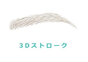 3Dストローク(3Dアートメイク)