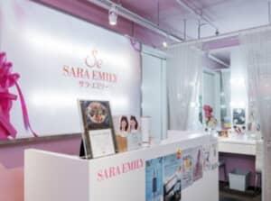 サラ エミリー 銀座店の店内写真